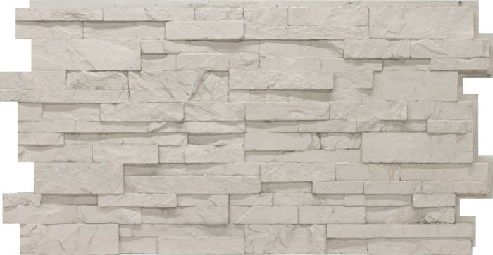 Antique White stacked stone