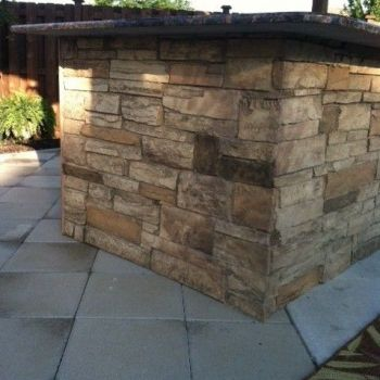 Outdoor Bar- Ledgestone
