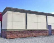 Stucco Clad Panels and Cornice_Glenwood, Arkansas