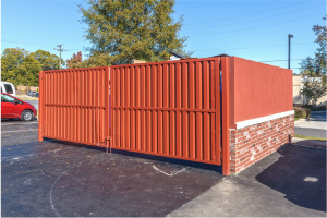 Dumpster Enclosure- Old Town Used Brick