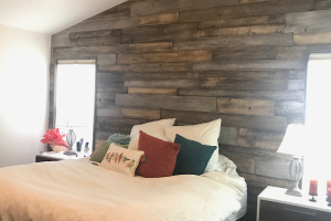 Reclaimed Wood- Aged Driftwood Bedroom